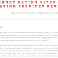 Benefits and advantages of using dating sites online review guide